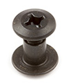 Black Oxide Chicago Screws